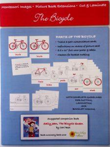 The Bicycle - Cut & Laminate Book