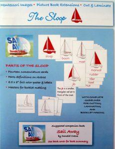 The Sloop - Cut & Laminate Book