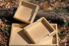 Multi-purpose Wooden Trays
